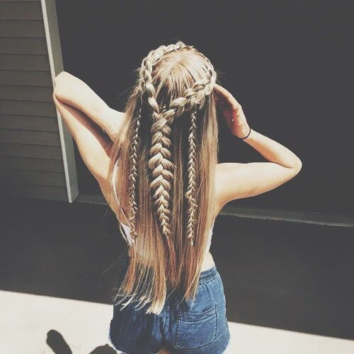 16 chicas con las que vas a querer intercambiar peinados - Chicas con trenzas ...