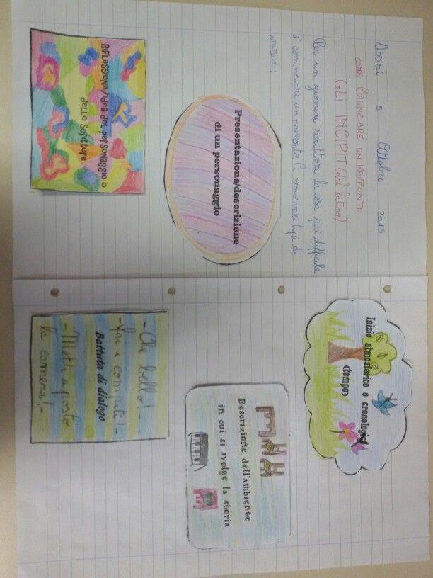 Il testo narrativo gli incipit comprensione del testo for Maestra carmelina classe seconda