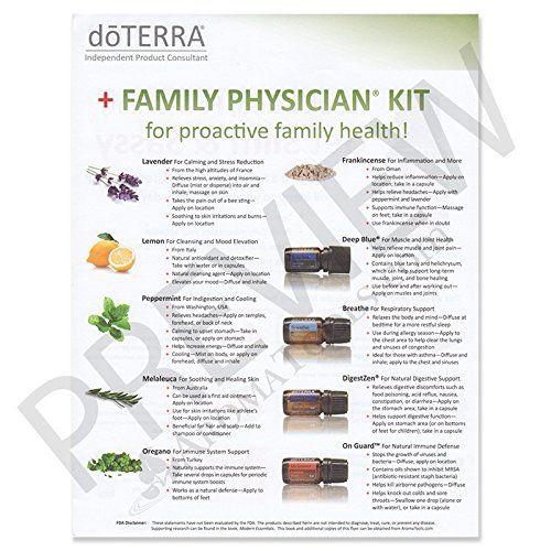 doTERRA Family Physician Kit Christmas Gift Ideas Pinterest