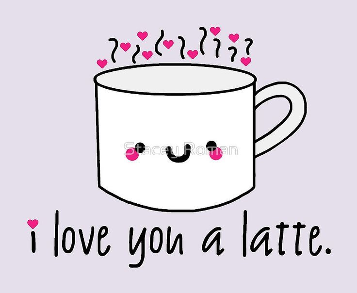 I love you a latte love puns punny cute coffee latte funny i love you a latte love puns punny cute coffee voltagebd Gallery
