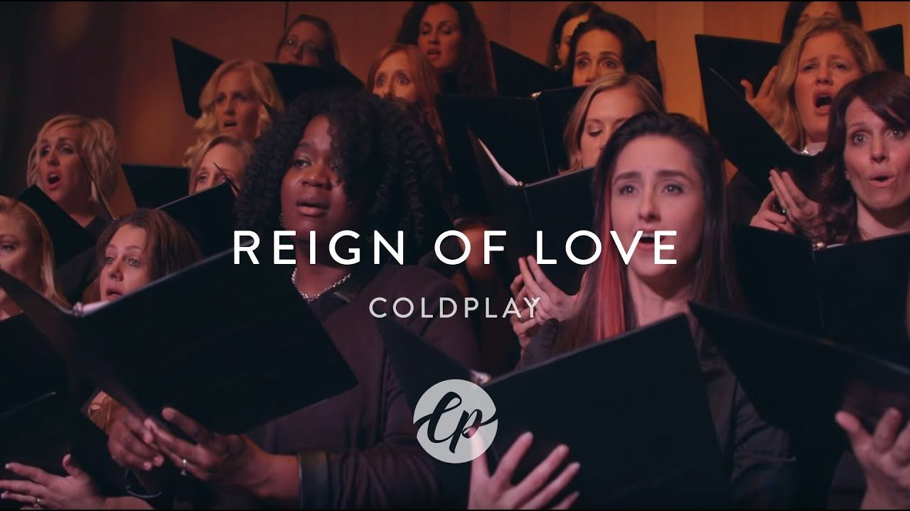 Coldplay Reign Of Love Live Orchestra Choir Youtube Coldplay Songs Coldplay Love Cover