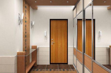 Стильные дизайнерские обои для прихожей и коридора: фото и ...