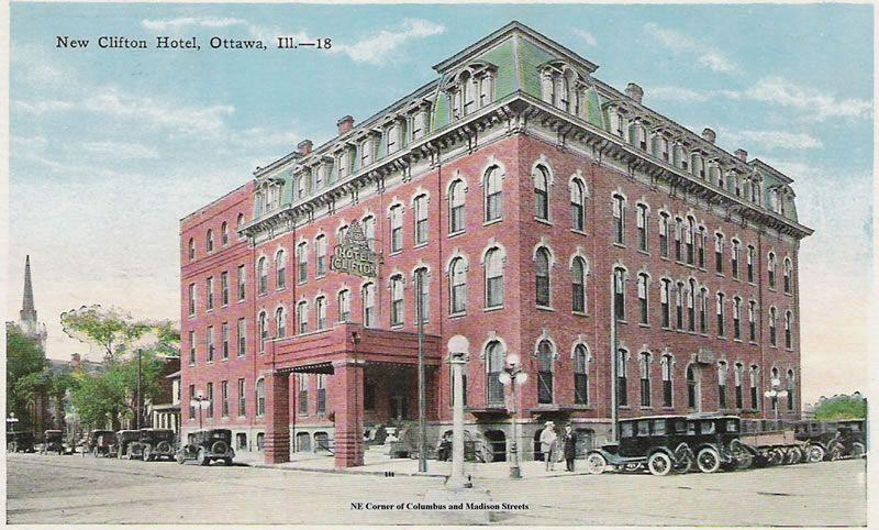 Clifton Hotel Ottawa Illinois