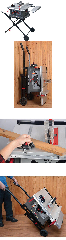 table saws 122835 craftsman 10 portable table saw space saving fold rh pinterest com