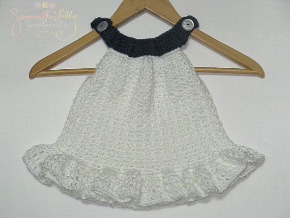 Halter Ruffle Dress Baby girl dress di SamanthaLillySweethe