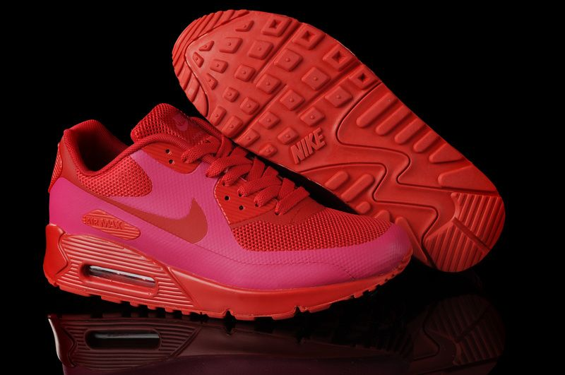 nike air max 90 hyperfuse solar red women's