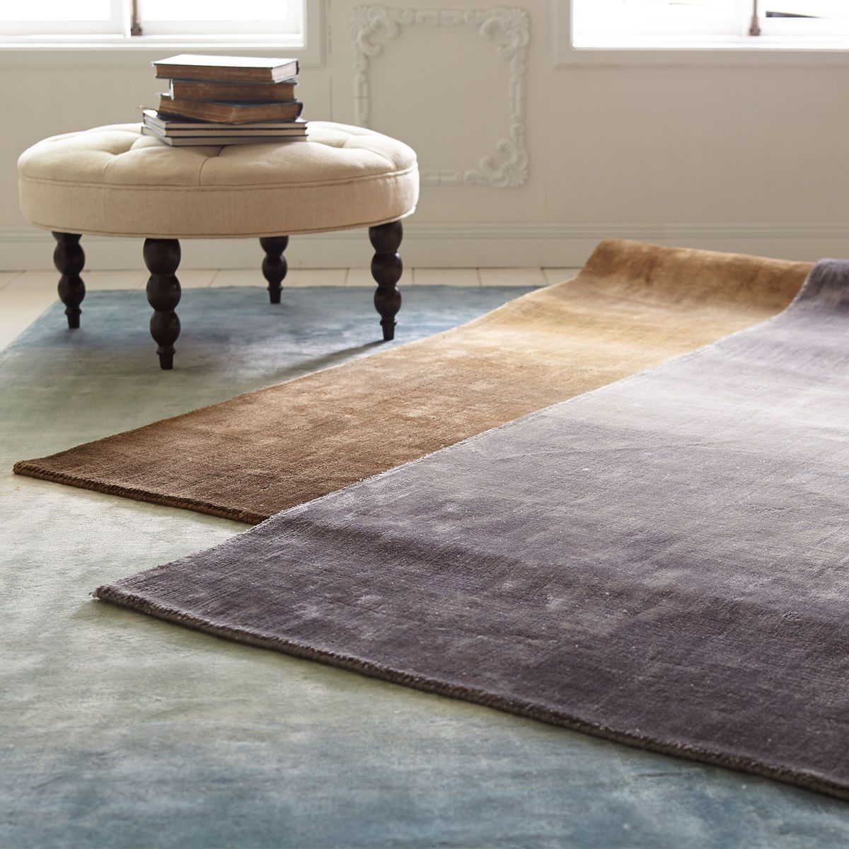 pier 1 living room rugs%0A Luxe Ombre Rugs  viscose  Pier   Imports  Canada