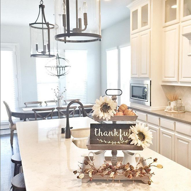Kitchen Decor For Fall: Kitchen Island Decor, Fall Kitchen Decor