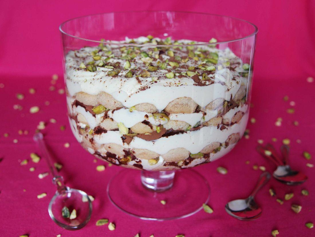 Chai Tiramisu with Vanilla and Rum