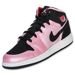 f6c7416fa8acd1 Girls  Grade School Air Jordan 1 Mid Basketball Shoes
