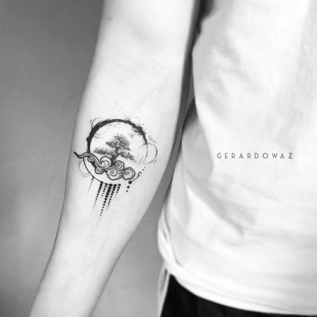 30 matching tattoo ideas for couples tatouages id e - Tatouage 4 elements ...