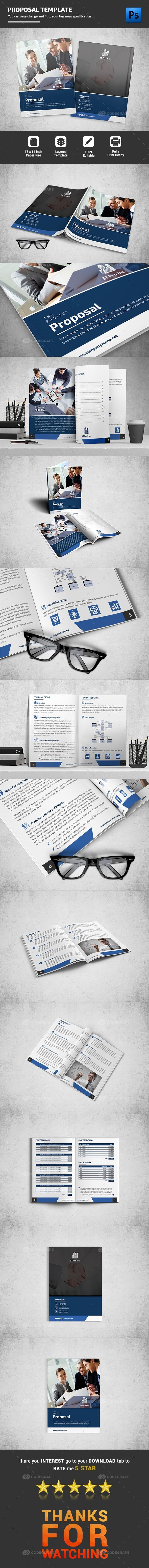 proposal report template%0A Proposal Template on  codegrape  More Info  https   www codegrape