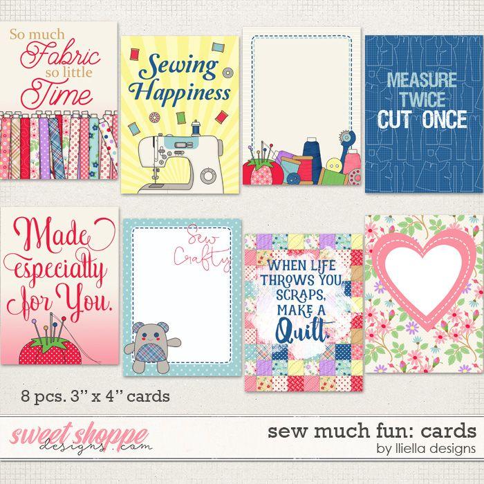 Sew Much Fun: Cards by lliella designs
