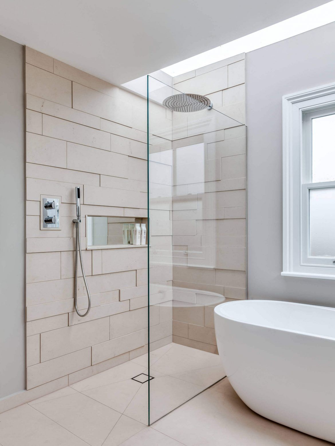 44 Modern Shower Tile Ideas And Designs 2020 Edition Minimalist Bathroom Design Minimalist Bathroom Shower Cabin