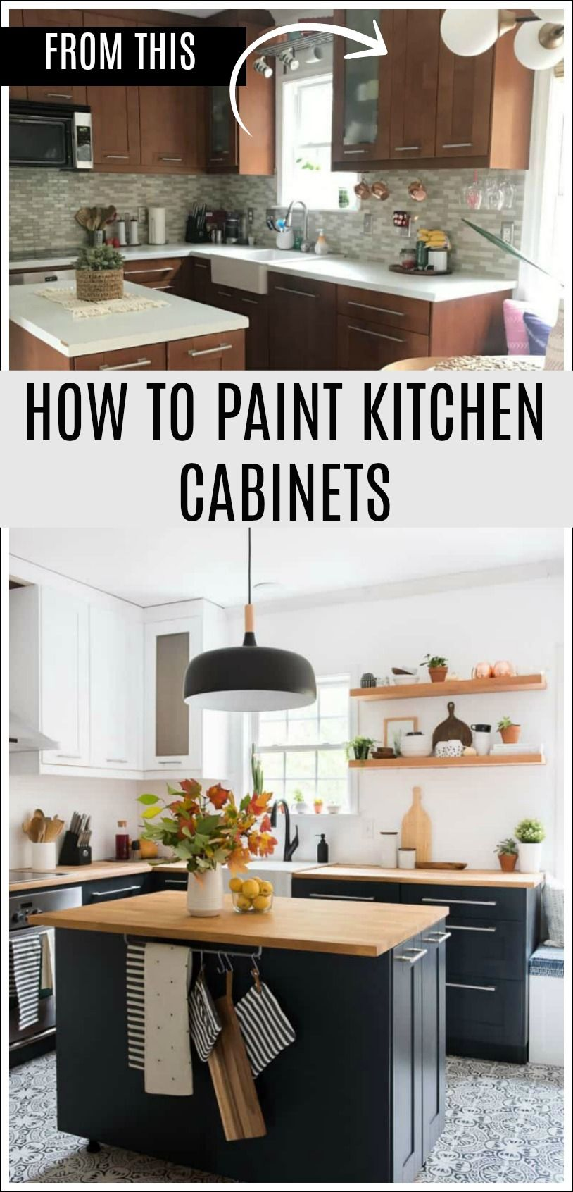 you can paint kitchen cabinets it s easy and it can make wonders rh pinterest com