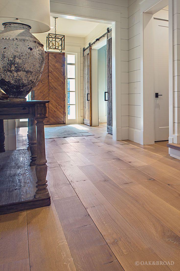 wide plank white oak flooring in nashville tn modern farmhouse rh pinterest com