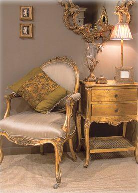 Palais De Versailles Mummy Gold Gilt Chair In 2019