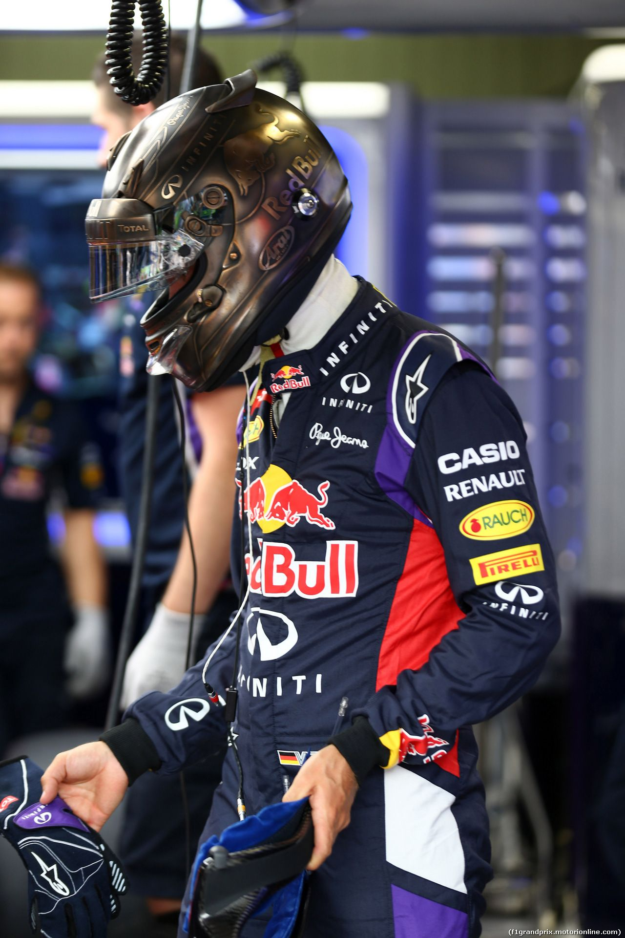 Sebastian Vettel Helmet 2014 Sebastian Vettel Helme...