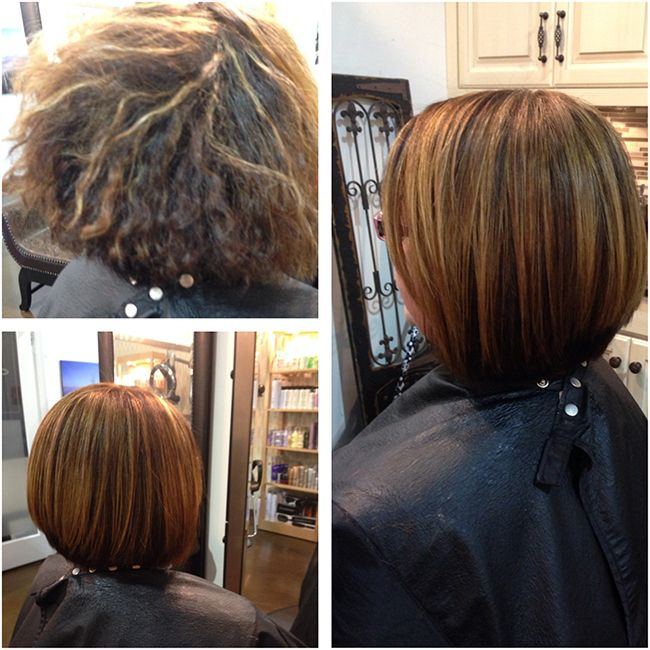Before And After Peter Coppola Keratin Treatment Brown Sleek Bob Https Www Pet Hair Smoothing Treatment Short Hair Keratin Treatment Keratin Hair Treatment