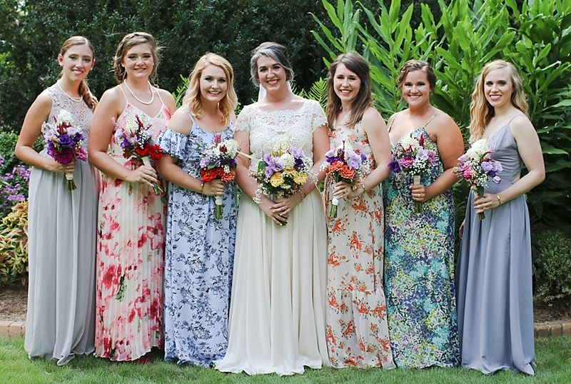 aa68bc9fffee3 Dinner Party Wedding and Reception | The Ryter Wedding | Bridesmaid ...