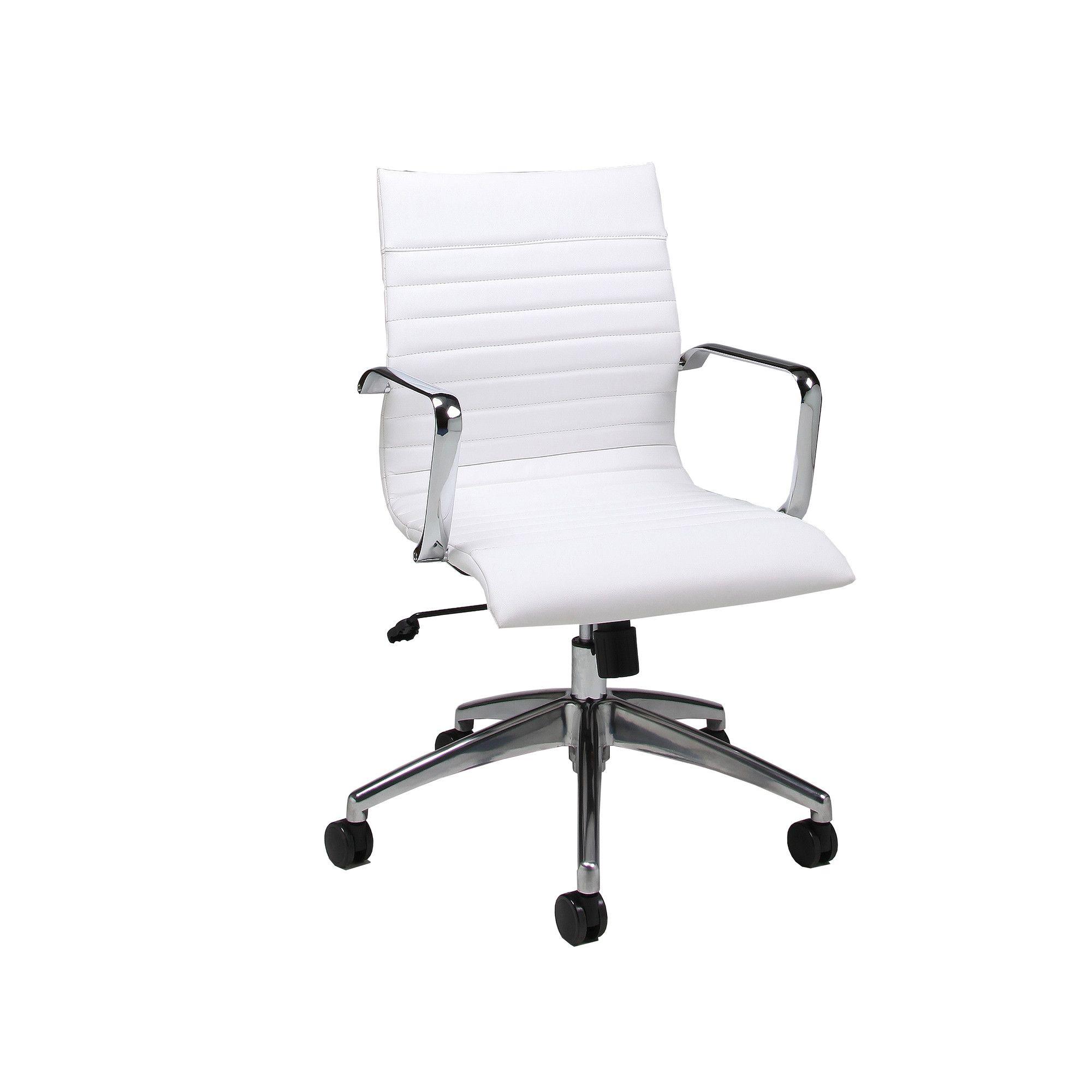 pastel furniture janette mid back office chair allmodern seattle rh pinterest com