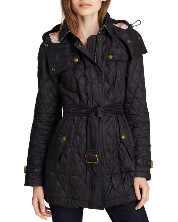 Finsbridge Quilted Coat Long Quilted Coat Burberry Quilted Jacket Quilted Coat