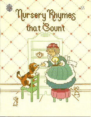 Children Baby Cross Stitch Patterns Nursery Rhymes That Count Mother GOOSE More | eBay
