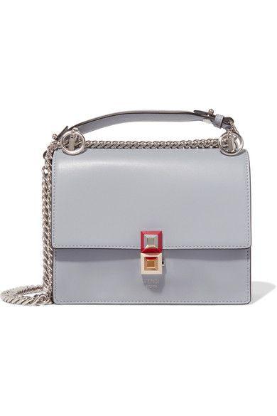 87e499b54b25 FENDI Kan I mini leather shoulder bag.  fendi  bags  shoulder bags  leather