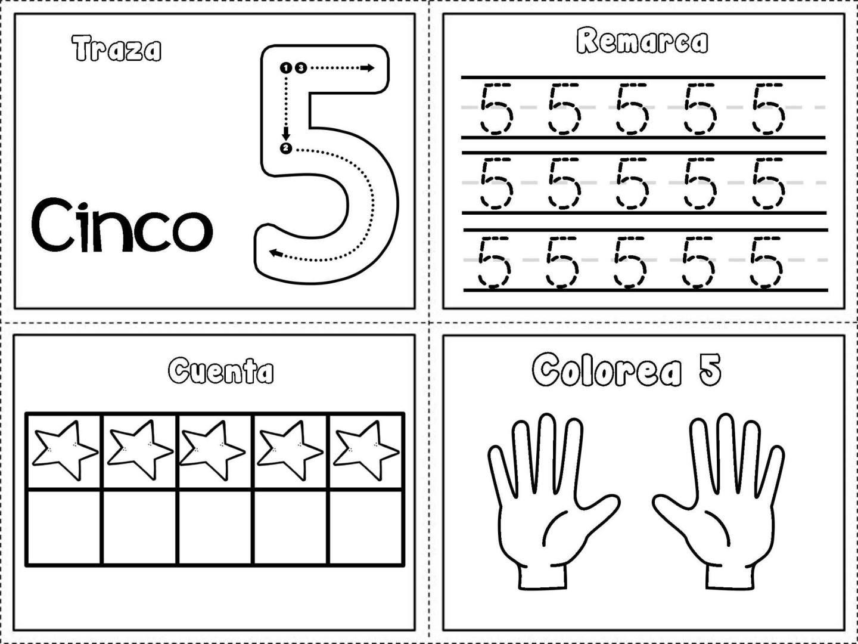 Grafomotricidad números del 1 al 10   Kind