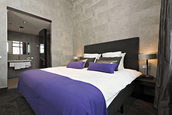 Elitis behang slaapkamer pinterest - Behang hoofdbord ...