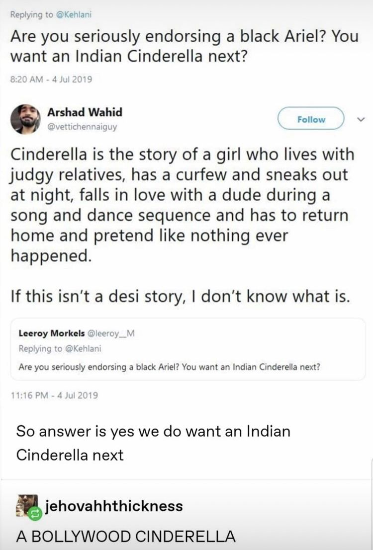 As Much As I Am Down For A Bollywood Cinderella We Ve Already Had