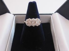 Sweet Edwardian Multi-Diamond Ring