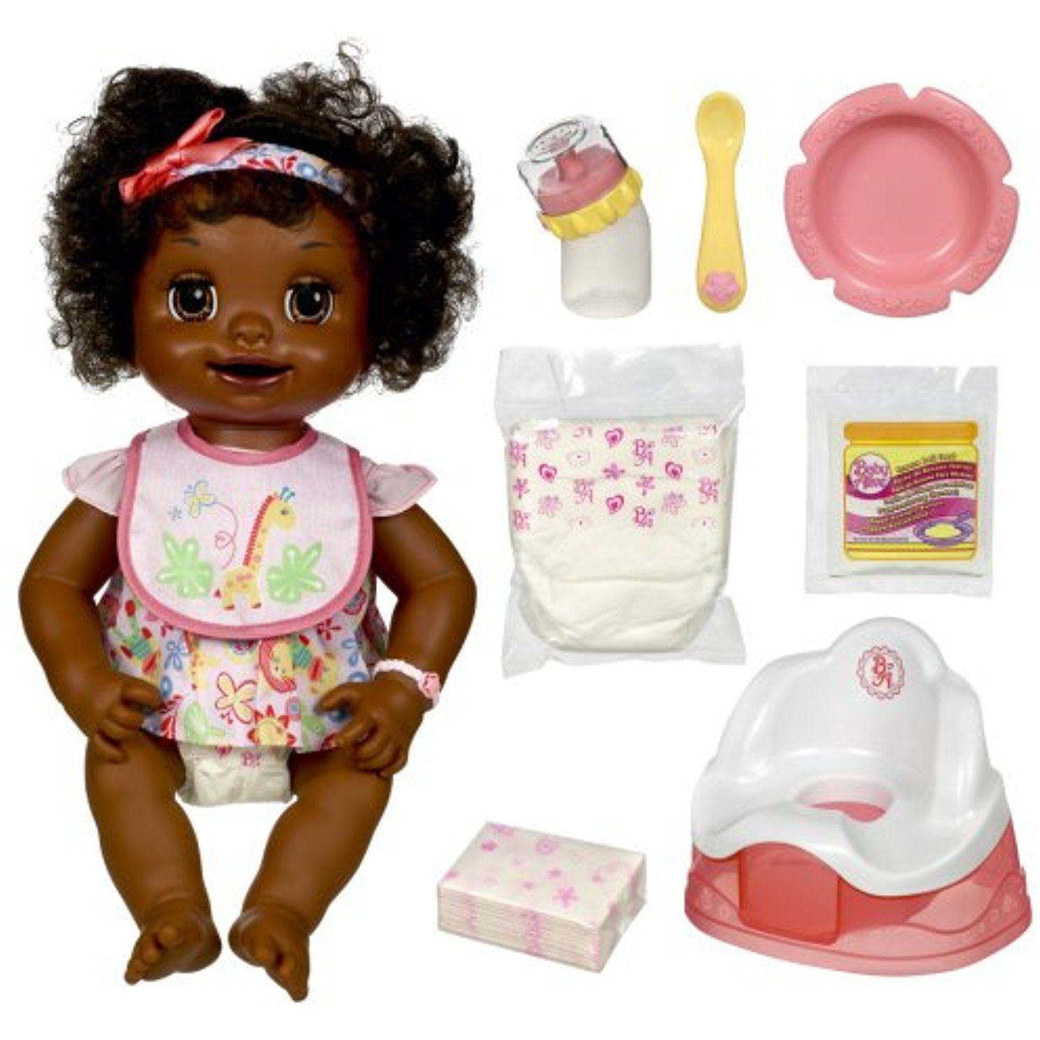 Baby Alive African American Learns To Potty You Can Find Out More Details At The Link Of The Image Thi Best Baby Doll Fake Baby Dolls Baby Doll Accessories