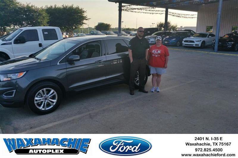 Congratulations to Michele West on your Ford Edge from