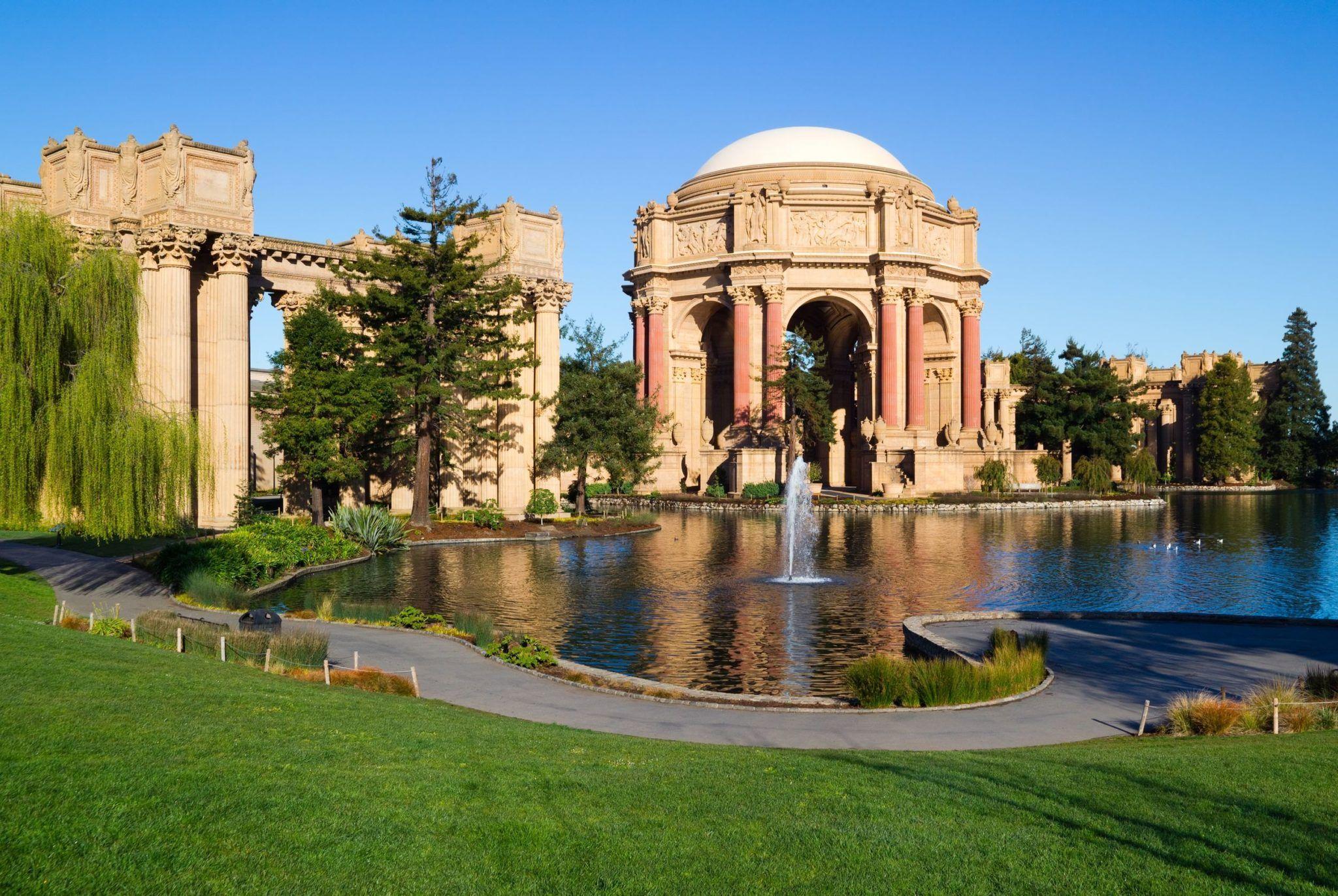 Palais des Beaux arts San Francisco Palais