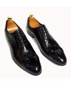 6461d0e91b1 TEMADOU- Italia Leather Lace-up Shoes