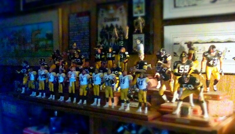 Full collection Steelers by Danbury Mint Steelers