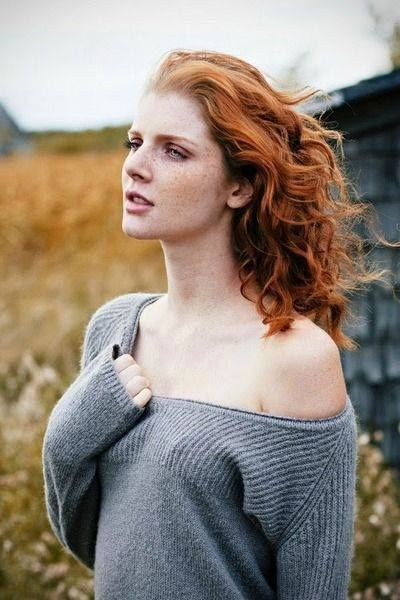 Redhead babe scans