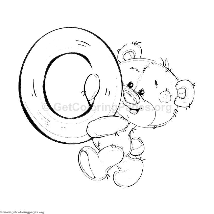 Alfabeto Ursinho Para Imprimir Com Imagens Paginas Para