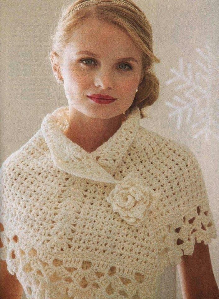 CARAMELO DE CROCHET | Mujer crochet | Pinterest | Gehäkelten schal ...
