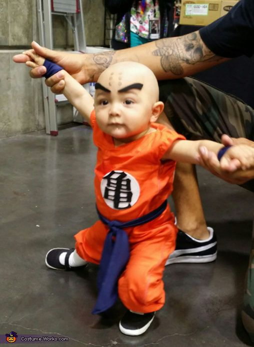 krillin costume toddler halloweencostume - Dragon Toddler Halloween Costume