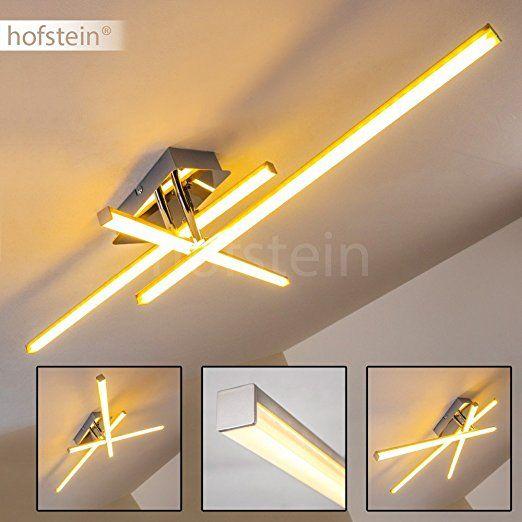 Luxury Deckenleuchte im minimalistischen Design mit hellem warmwei em Licht u LED Lampe f r das Wohnzimmer