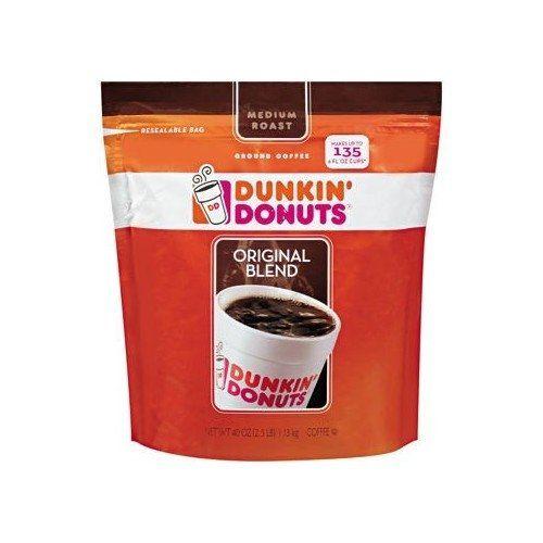 Dunkin Donuts Original Blend Coffee 40oz Dunkin Donuts httpwww