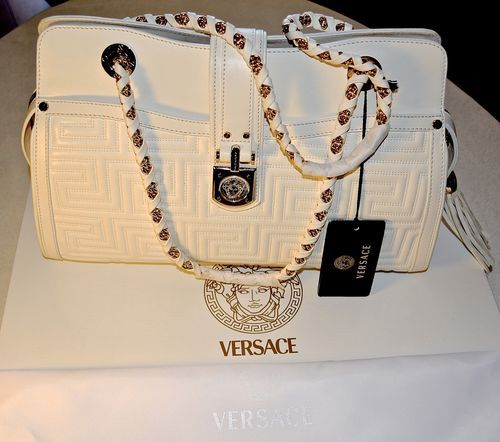 d3d82060e918 This is an AMAZING Versace bag! SUPER classy!