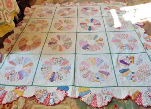 Dresden Plate Quilts 1930 Finely Done
