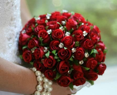 Silk Wedding Flowers, Artificial Wedding Bouquets, and Silk Bridal ...