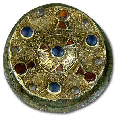 6th century disc brooch
