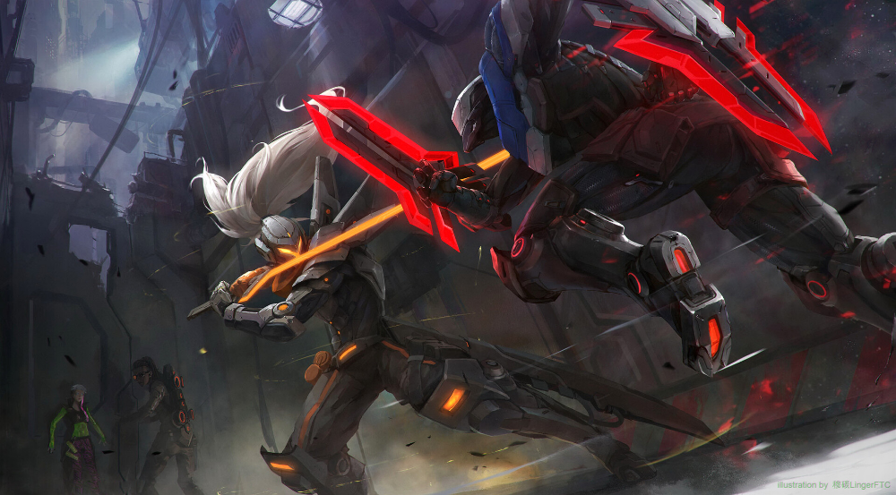 Artstation Project Yasuo Vs Project Zed Linger Ftc Zed Wallpaper League Of Legends Casal Anime