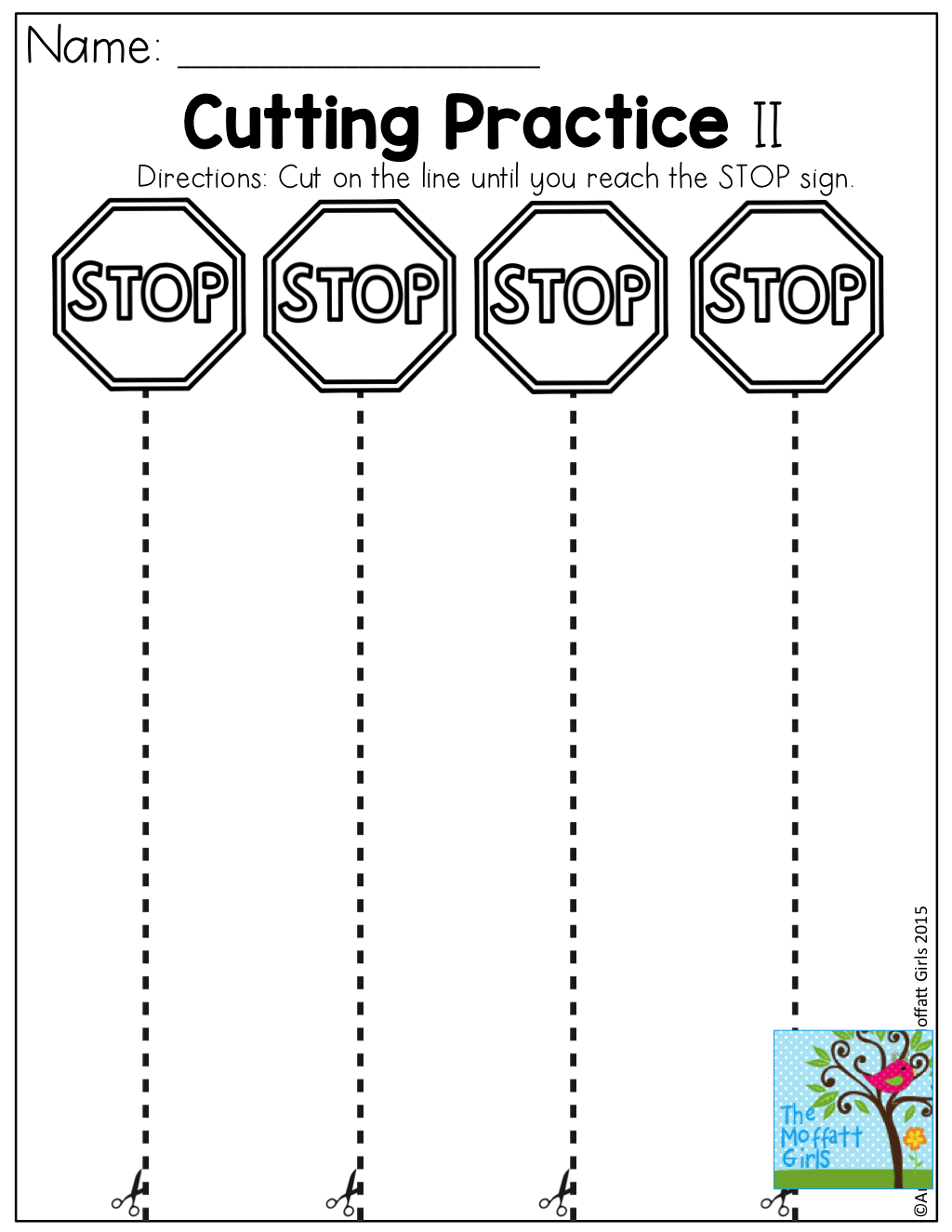 Worksheets Cutting Worksheets cutting practice tons of fun effective and hands on resources for pre