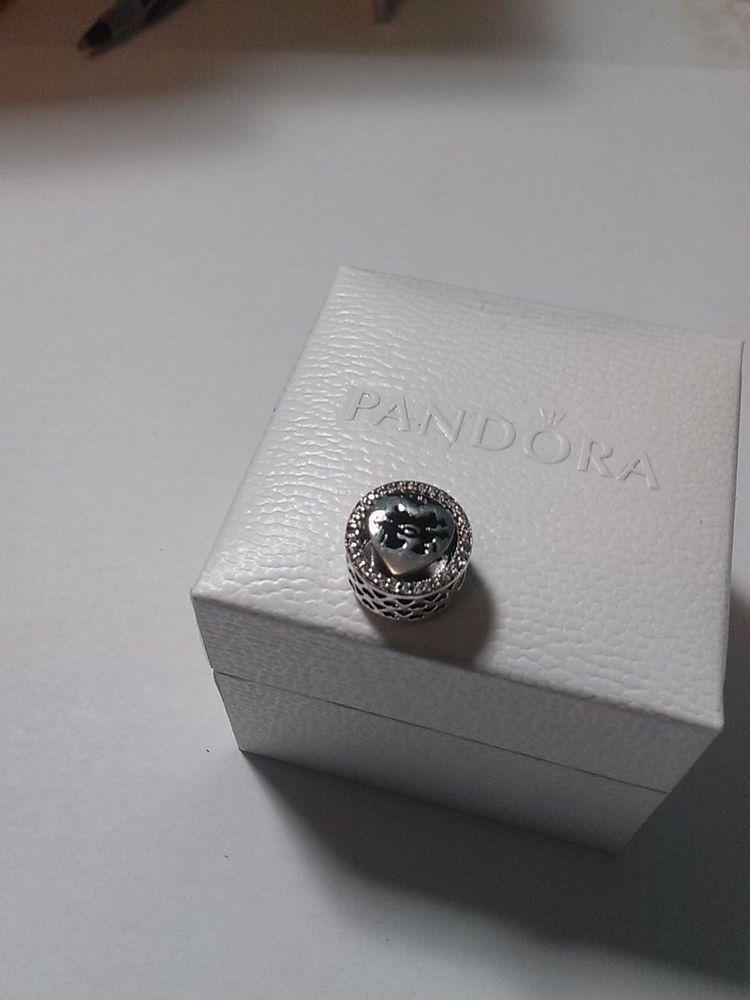 489b15e01 Pandora Disney Mickey & Minnie Love Charm #791957CZ | PANDORA CHARM ...